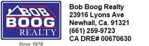 bob boog realty newhall